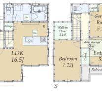 東矢口の家(大型3LDK)
