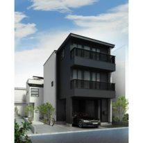 目黒3丁目のデザイン戸建