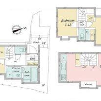 北沢、築浅の家