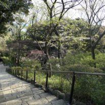 かつての多摩川園遊園地、今は近隣のご家族の憩いの場となっています(外観)