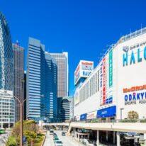 新宿駅も徒歩圏です(外観)